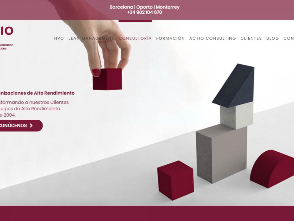 Nueva Web de Actio Consulting